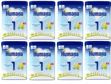 Humana 1 800g (8 boxes)