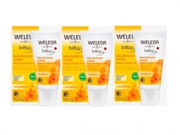Weleda Calendula Baby cream 75mlx3 (3 boxes)