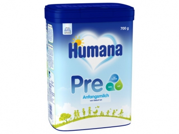 Humana Pre Anfangsmilch 700g