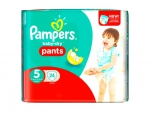 Pampers Easy Up Pants 24 Stück 11-25kg Gr 5