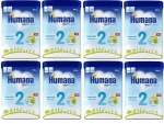 Humana Folgemilch 2 800g (8 Packungen)